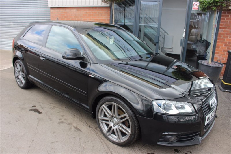 used Audi A3 TDI S LINE BLACK EDITION-XENON HEADLIGHTS-BOSE SPEAKERS in warrington-cheshire