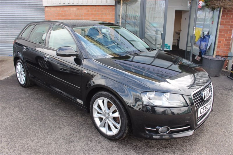 used Audi A3 SPORTBACK TDI SPORT S/S-AIR CON-CLIMATE CONTROL in warrington-cheshire