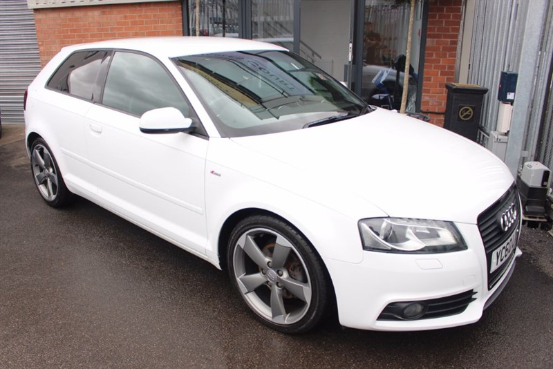 used Audi A3 TDI S LINE SPECIAL EDITION in warrington-cheshire