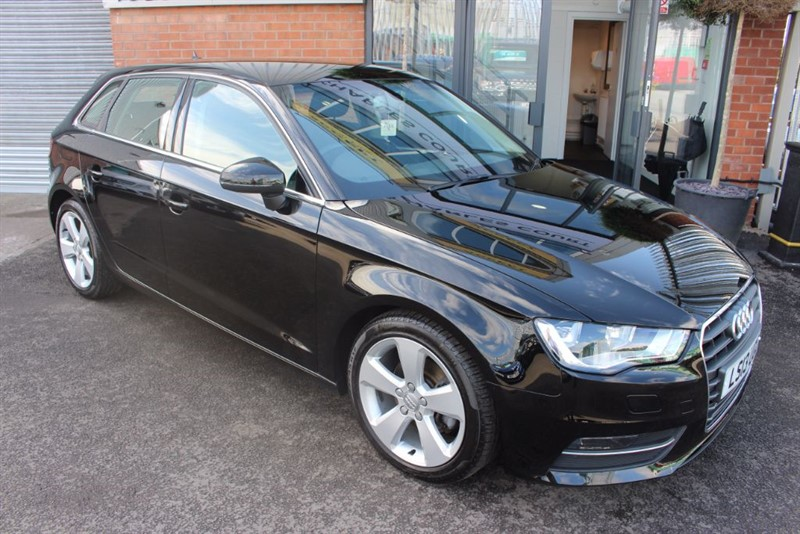 used Audi A3 TDI SPORT in warrington-cheshire
