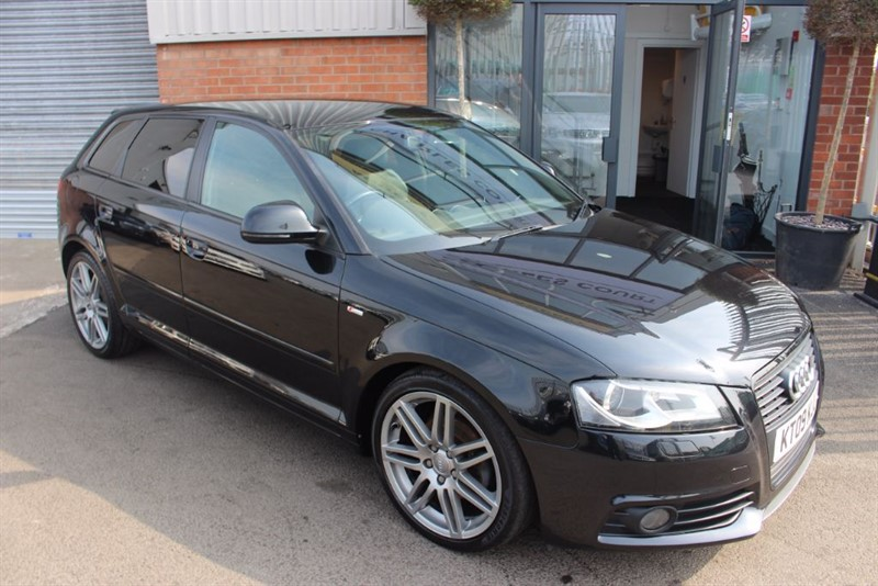 used Audi A3 SPORTBACK TDI S LINE SPECIAL EDITION-BOSE SOUND in warrington-cheshire
