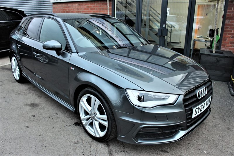 used Audi A3 TDI S LINE-1 OWNER-£0 ROAD TAX in warrington-cheshire