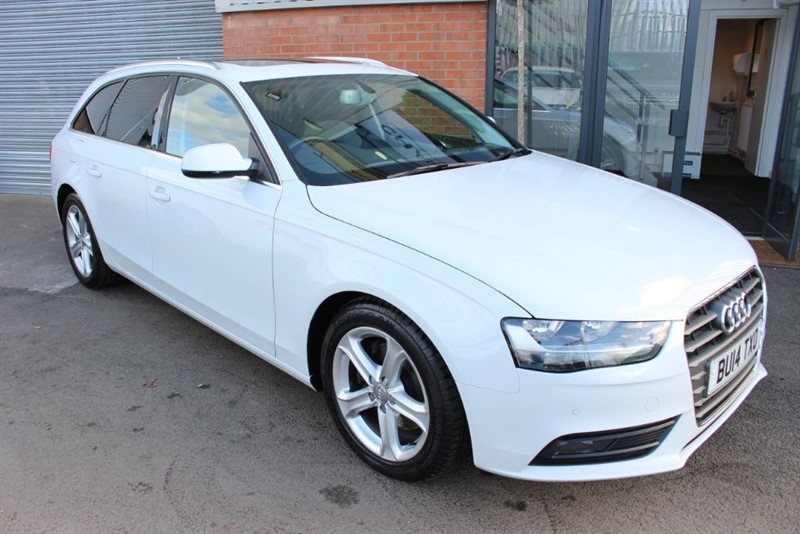used Audi A4 Avant TDI SE TECHNIK-PAN ROOF in warrington-cheshire