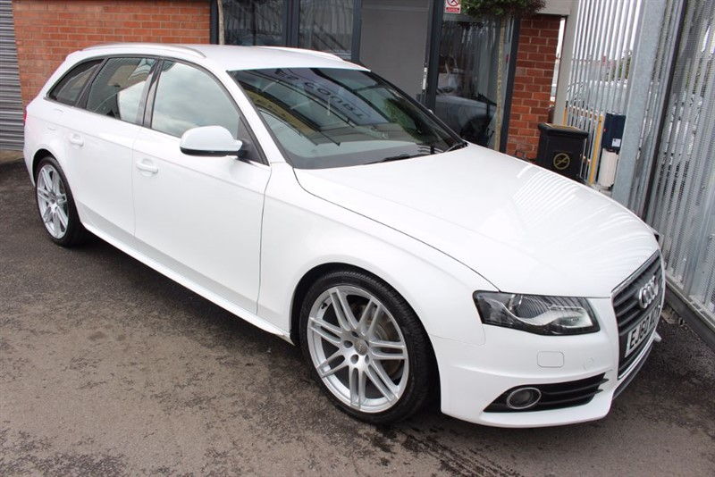 used Audi A4 Avant TDI S LINE SPECIAL EDITION-HEATED SEATS & CRUISE CONTROL in warrington-cheshire