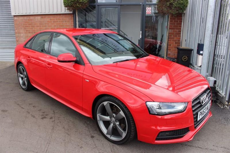 used Audi A4 TDI S LINE BLACK EDITION-£30 ROAD TAX-B&O SOUND-HEATED SEATS in warrington-cheshire