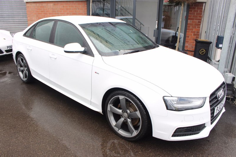 used Audi A4 TDI S LINE BLACK EDITION in warrington-cheshire