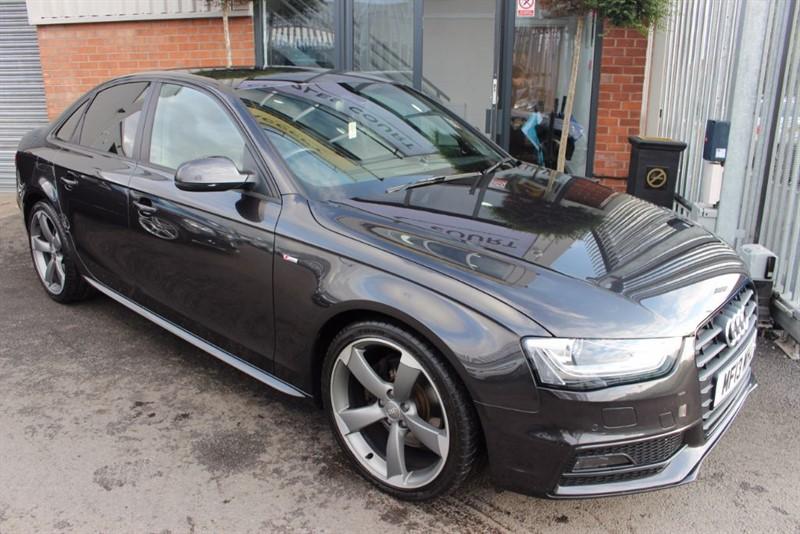 used Audi A4 TDI S LINE BLACK EDITION in warrington-cheshire
