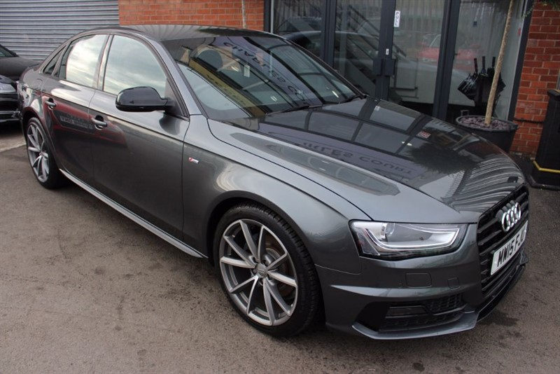 used Audi A4 TDI S LINE BLACK EDITION PLUS-1OWNER in warrington-cheshire