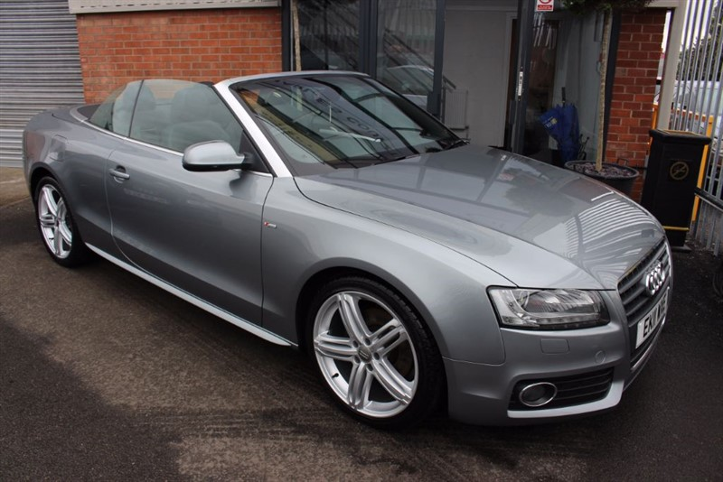 "used Audi A5 TDI S LINE-19""ALLOYS in warrington-cheshire"