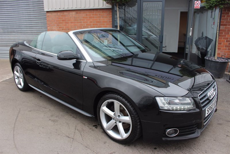 used Audi A5 TDI S LINE-XENON HEADLIGHTS-LEATHER UPHOLSTERY in warrington-cheshire