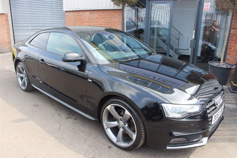 used Audi A5 TDI S LINE BLACK EDITION-B&O SOUND SYSTEM-XENON HEADLIGHTS in warrington-cheshire
