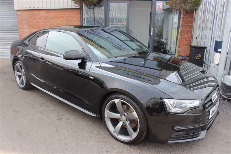 used Audi A5 TDI BLACK EDITION in warrington-cheshire