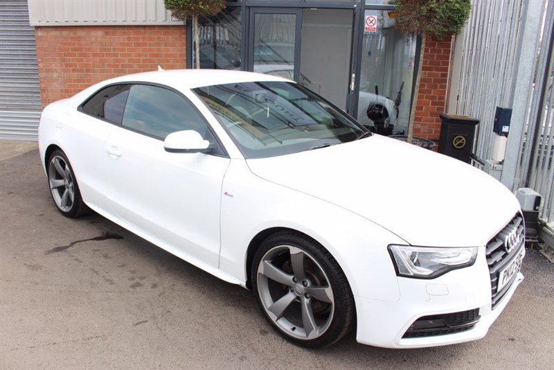 used Audi A5 TDI QUATTRO S LINE BLACK EDITION in warrington-cheshire