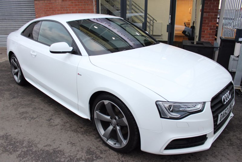 used Audi A5 TDI BLACK EDITION in warrington-cheshire