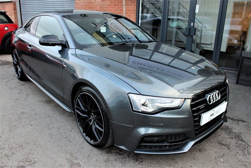 used Audi A5 TDI S LINE BLACK EDITION PLUS in warrington-cheshire