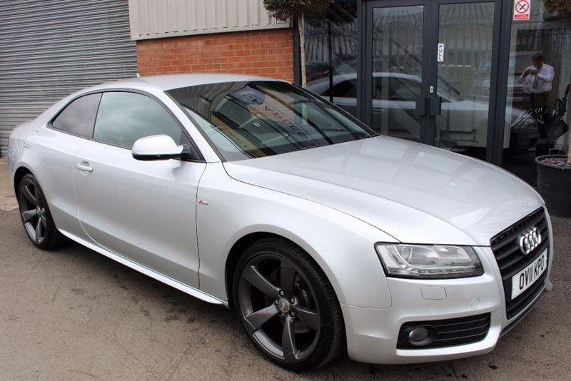 used Audi A5 BLACK EDITION-CRUISE CONTROL-BLUETOOTH in warrington-cheshire