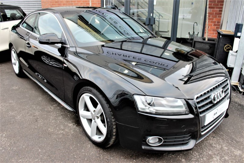used Audi A5 TFSI S LINE in warrington-cheshire