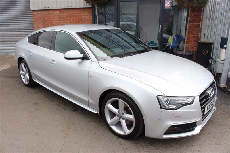 used Audi A5 SPORTBACK TDI S LINE in warrington-cheshire