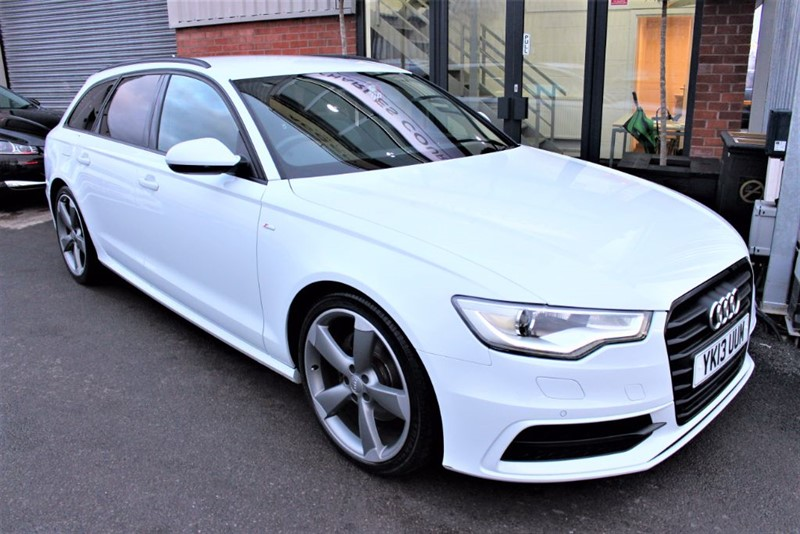 used Audi A6 Avant TDI S LINE BLACK EDITION in warrington-cheshire