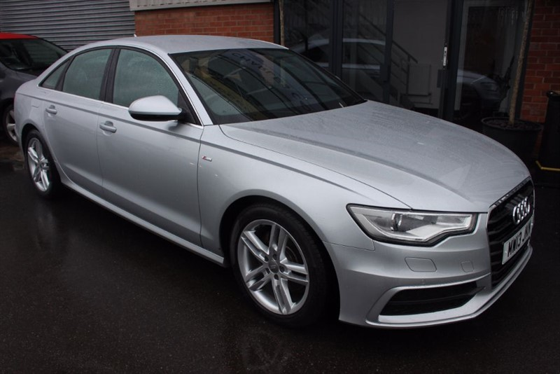 used Audi A6 TDI S LINE WITH SAT NAV in warrington-cheshire