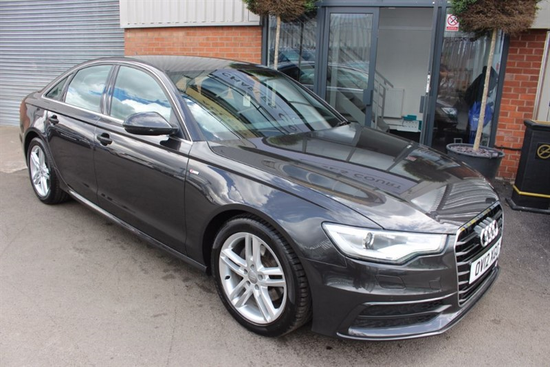 used Audi A6 TDI S LINE-SAT NAV-IMMACULATE LOW MILEAGE EXAMPLE in warrington-cheshire