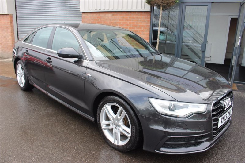 used Audi A6 TDI S LINE-1OWNER-BLUETOOTH in warrington-cheshire