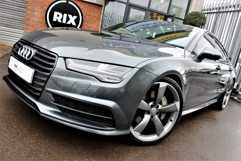 used Audi A7 SPORTBACK TDI QUATTRO S LINE BLACK ED in warrington-cheshire