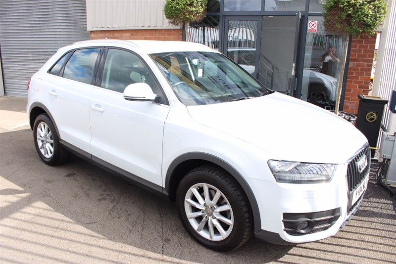 used Audi Q3 TDI SE-AIR CON-CLIMATE CONTROL in warrington-cheshire