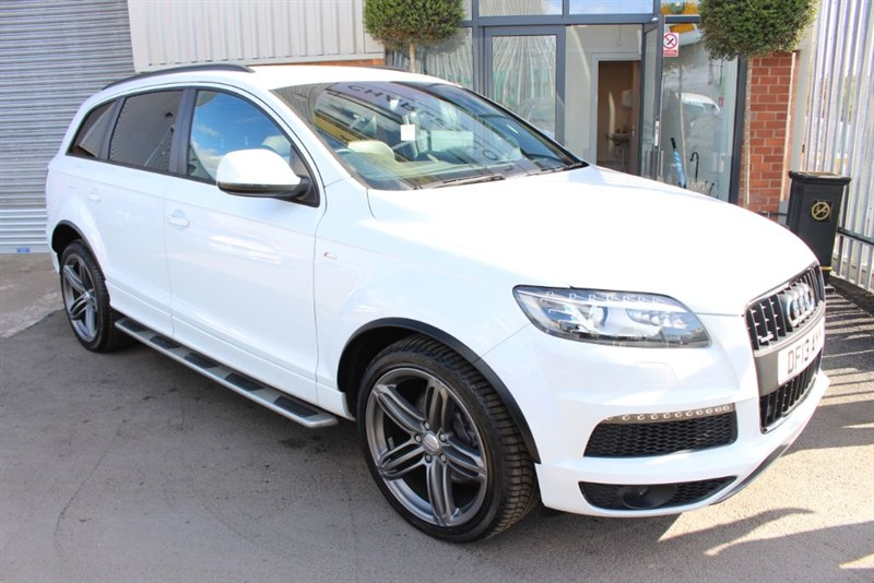 used Audi Q7 TDI QUATTRO S LINE PLUS in warrington-cheshire