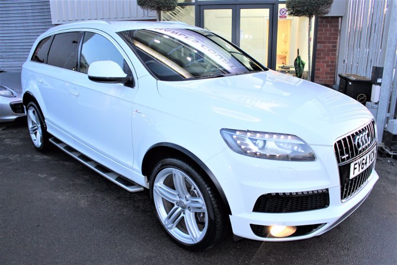 used Audi Q7 TDI QUATTRO S LINE PLUS S/S in warrington-cheshire