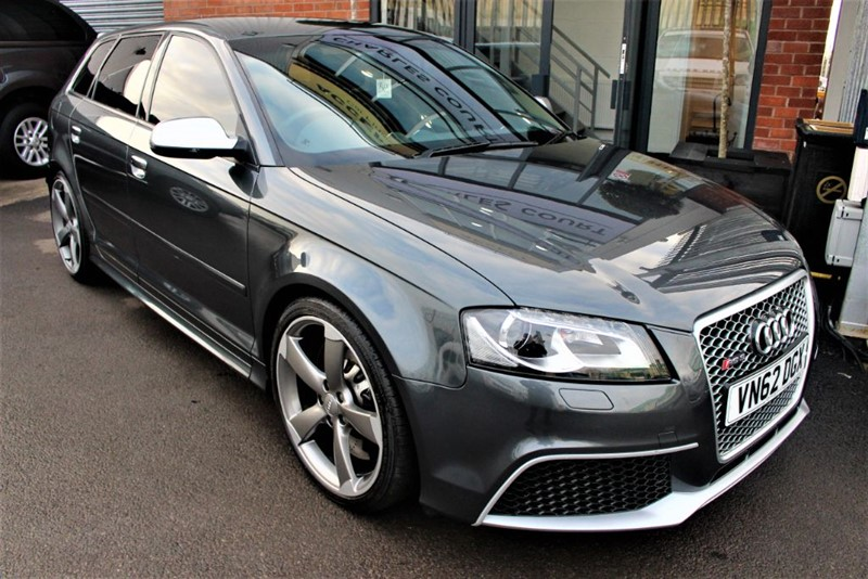 used Audi RS3 QUATTRO-SAT NAV-HEATED SEATS-2 OWNER CAR in warrington-cheshire