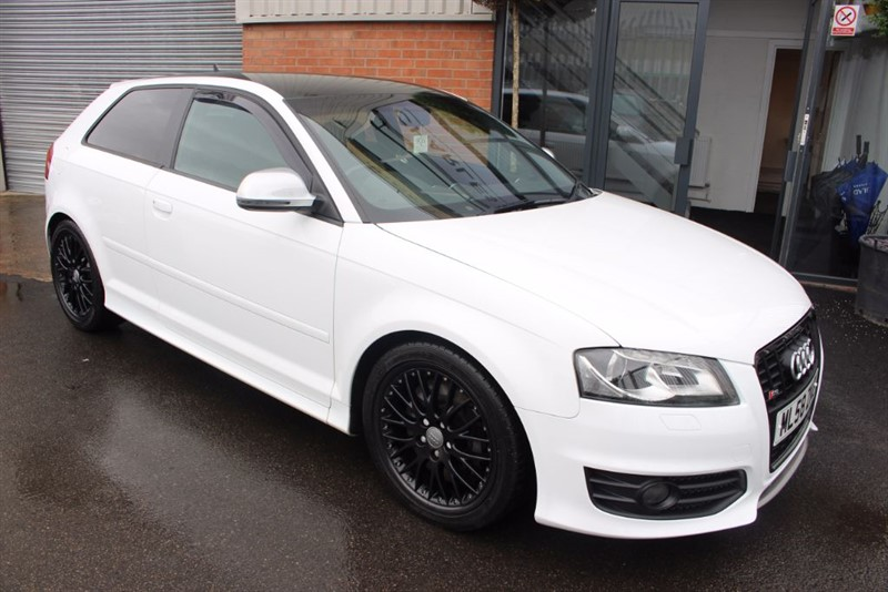 used Audi S3 TFSI QUATTRO-SAT NAV-FULL LEATHER in warrington-cheshire