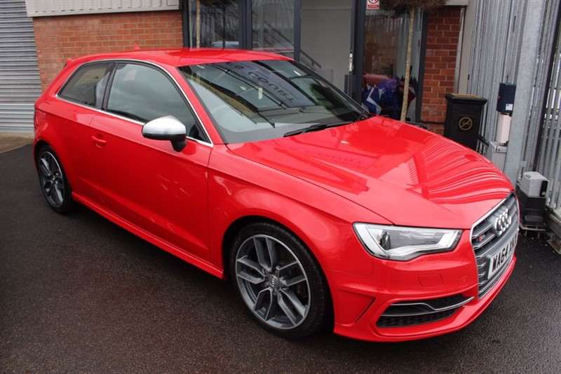 used Audi S3 QUATTRO-1OWNER-HEATED SEATS in warrington-cheshire