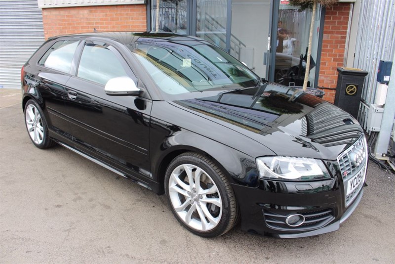 used Audi S3 QUATTRO-WOW LOOK AT THE MILEAGE & 1 OWNER in warrington-cheshire