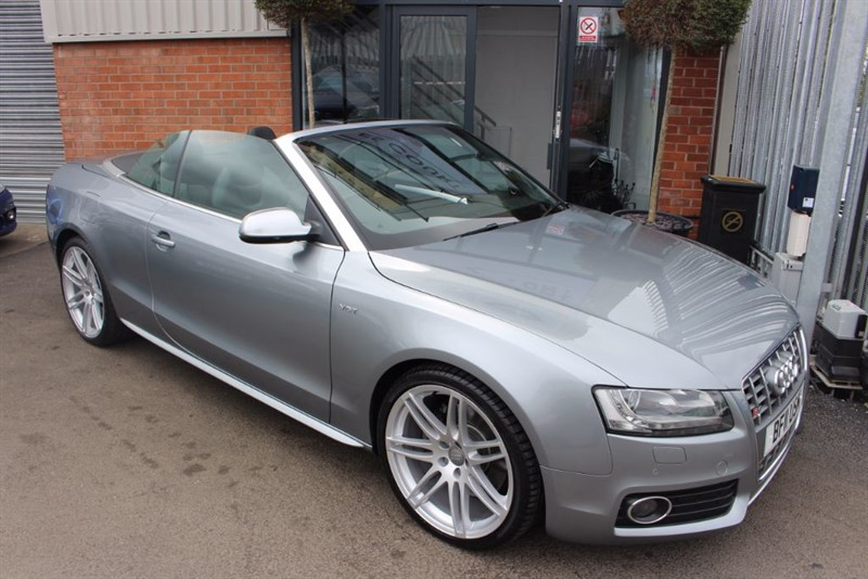 used Audi S5 TFSI QUATTRO WITH SAT NAV in warrington-cheshire