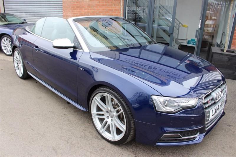 "used Audi S5 TFSI QUATTRO-SAT NAV-20""ALLOYS in warrington-cheshire"