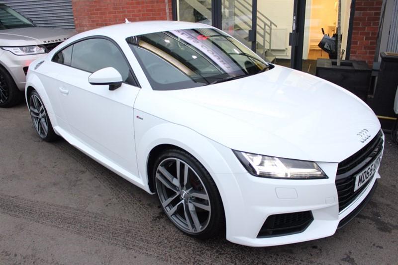 """used Audi TT TDI ULTRA S LINE-19""""ALLOYS-HEATED SEATS-£30 ROAD TAX in warrington-cheshire"""