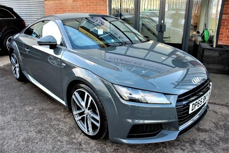 used Audi TT TDI ULTRA S LINE-SATNAV-£20 ROAD TAX in warrington-cheshire