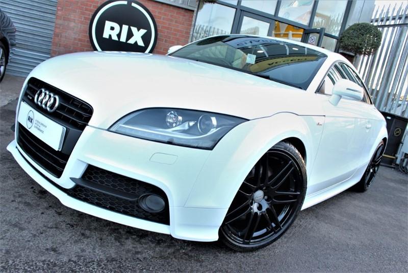 used Audi TT TDI QUATTRO S LINE BLACK EDITION in warrington-cheshire