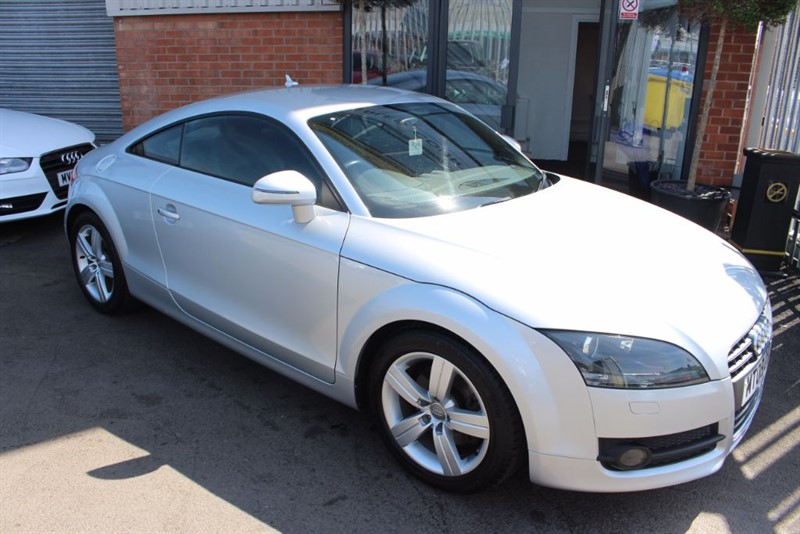 used Audi TT TFSI-AIR CON-CLIMATE CONTROL AND LEATHER SEATS in warrington-cheshire