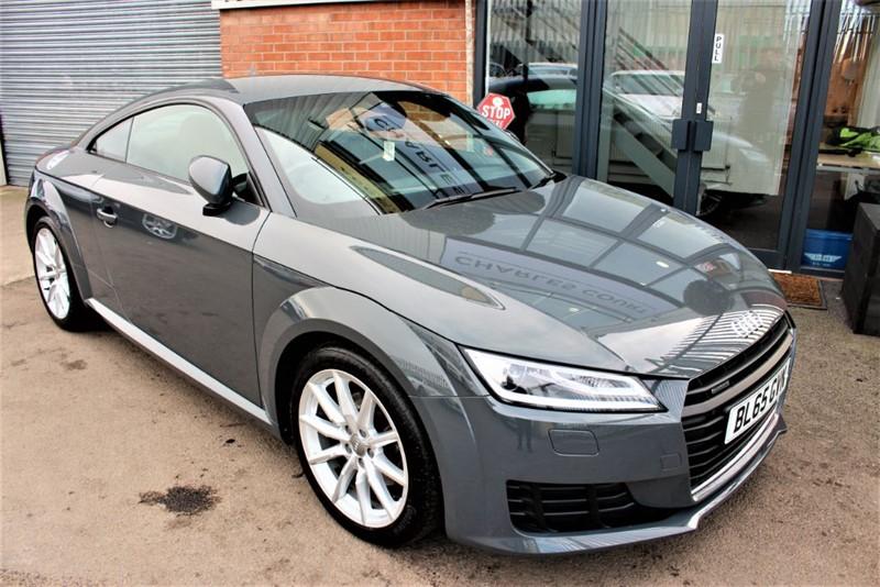 used Audi TT TFSI QUATTRO SPORT in warrington-cheshire