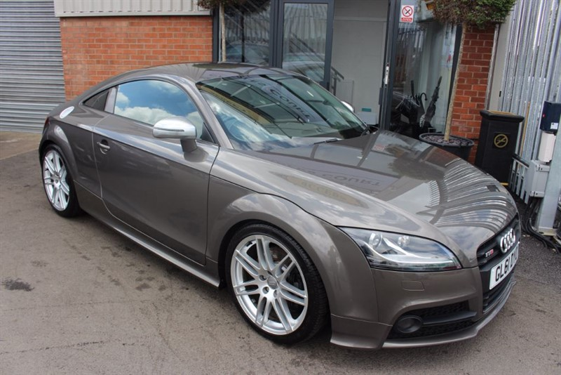 "used Audi TTS TFSI QUATTRO S LINE BLACK EDITION-19"" ALLOYS-FULL LEATHER in warrington-cheshire"
