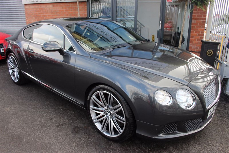 used Bentley Continental GT SPEED-FULL BENTLEY SERVICE HISTORY & NAIM SOUND in warrington-cheshire