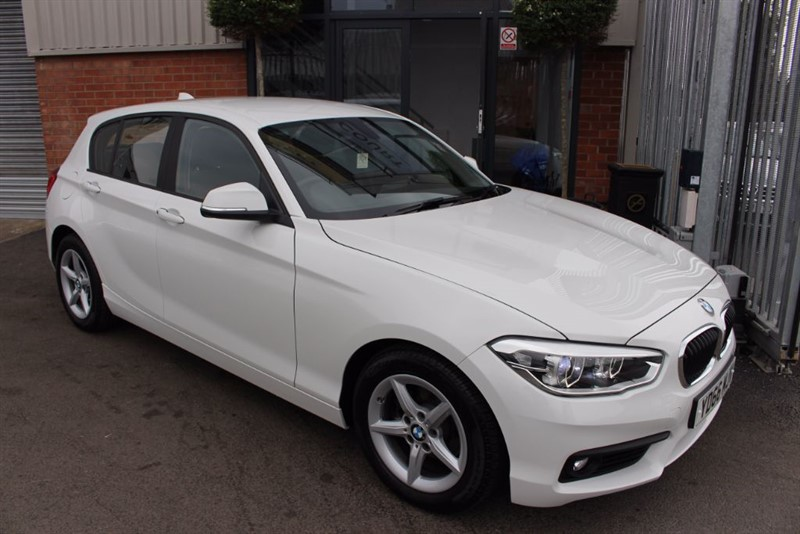 used BMW 116d ED PLUS-SATNAV-£0 ROAD TAX in warrington-cheshire