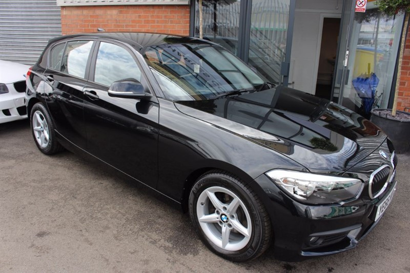 used BMW 116d ED PLUS-SATNAV-£0 ROAD TAX in warrington-cheshire