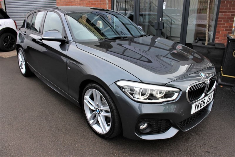 used BMW 116d M SPORT-SAT NAV-XENONS in warrington-cheshire