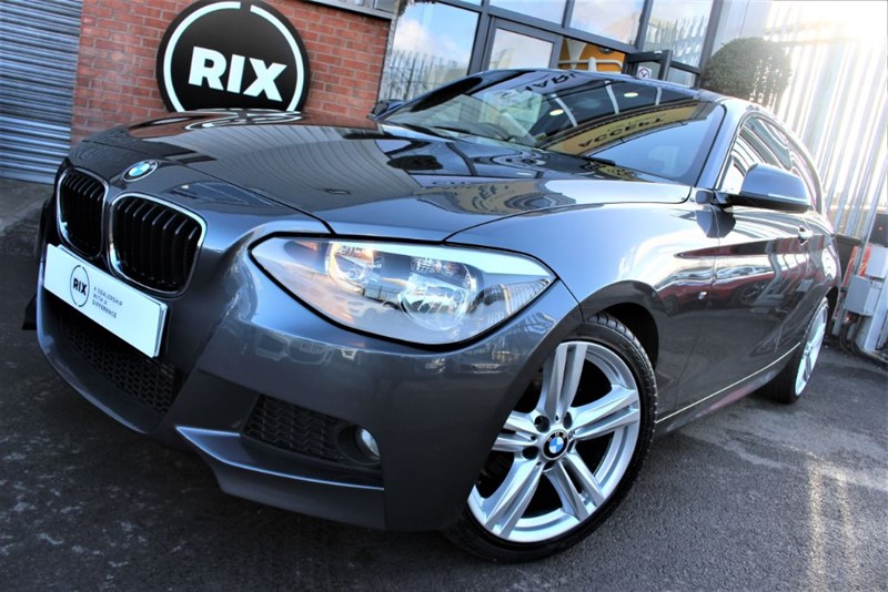 used BMW 116d M SPORT-RED LEATHER in warrington-cheshire