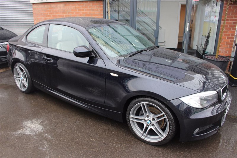 used BMW 118d SPORT PLUS EDITION-LEATHER UPHOLSTERY-BLUETOOTH in warrington-cheshire