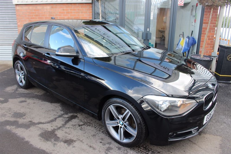 used BMW 118d SPORT-£30 ROAD TAX in warrington-cheshire