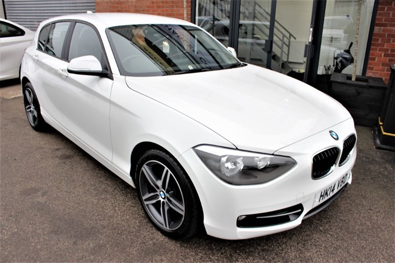 used BMW 118d SPORT in warrington-cheshire
